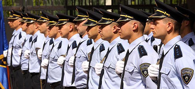 Одбележување на Денот на македонската полиција