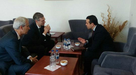 Попоски се сретна со генералниот директор за европска соработка во холандското МНР