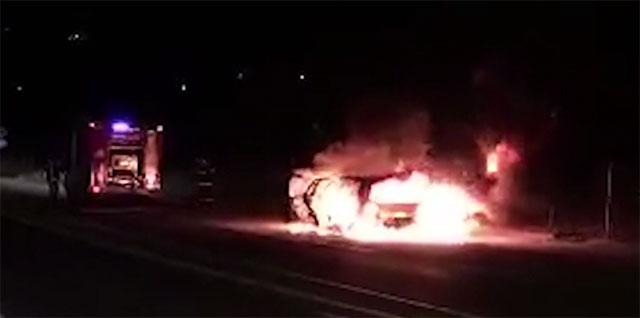 Опожарена пекара и автомобил во Гостивар