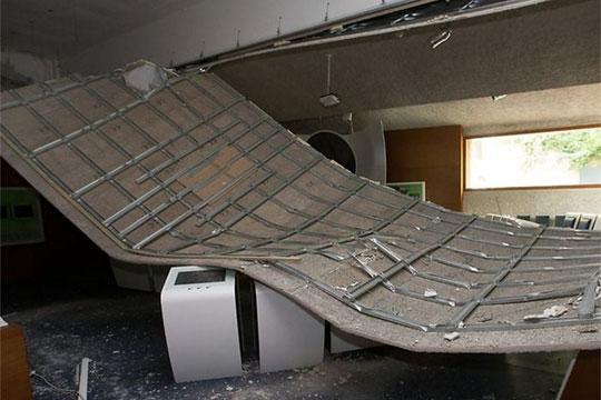 Се урна покривот на Европскиот музеј во Шенген