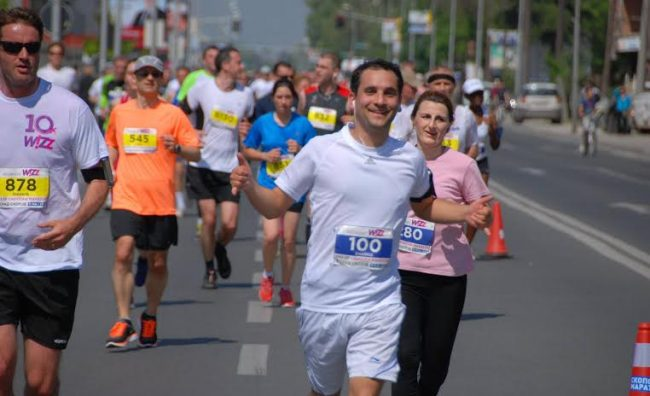 Изменет сообраќаен режим поради Скопскиот маратон
