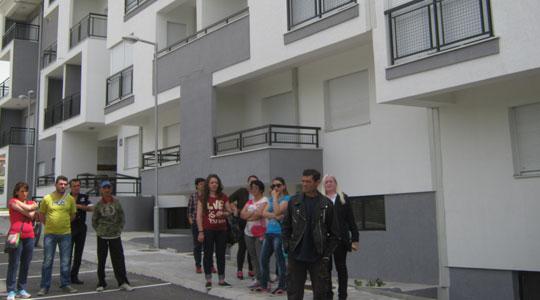 Мирен протест на добитниците на социјални станови во Прилеп