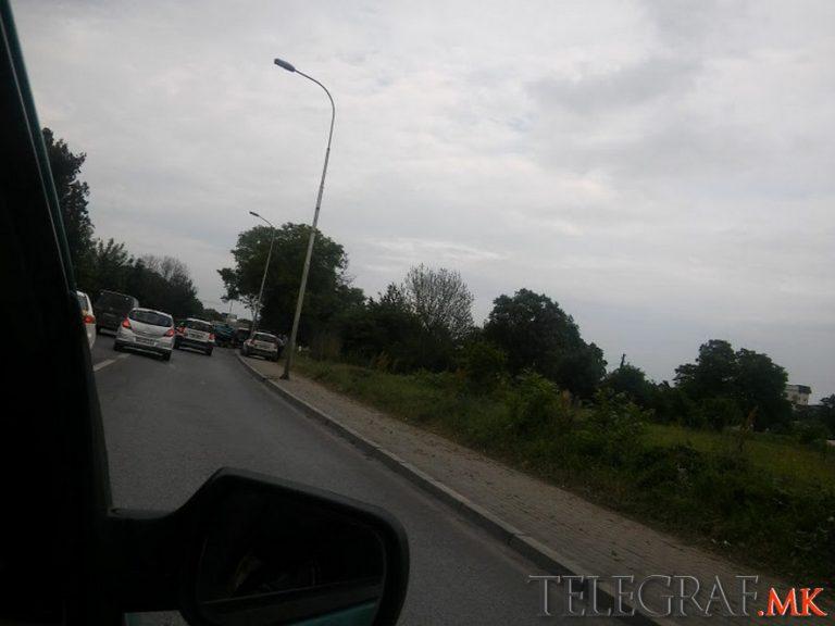 Сообраќајка во Автокоманда -нема повредени (Фото)