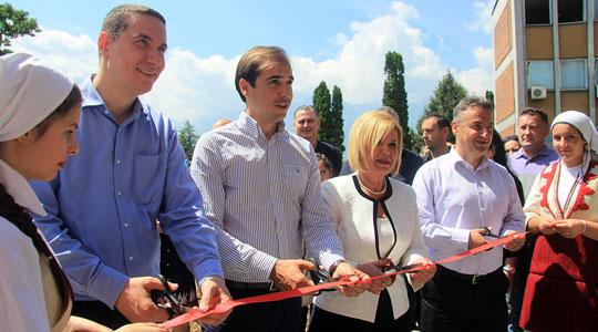 Отворена нова детска градинка во Јегуновце