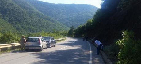 Македонски политичар доживеа сообраќајка