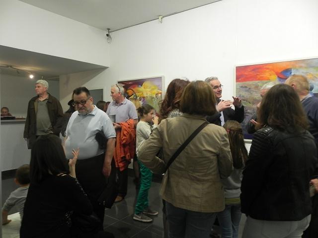 Отварање на 54-тата самостојна изложба на Тони Шулајковски