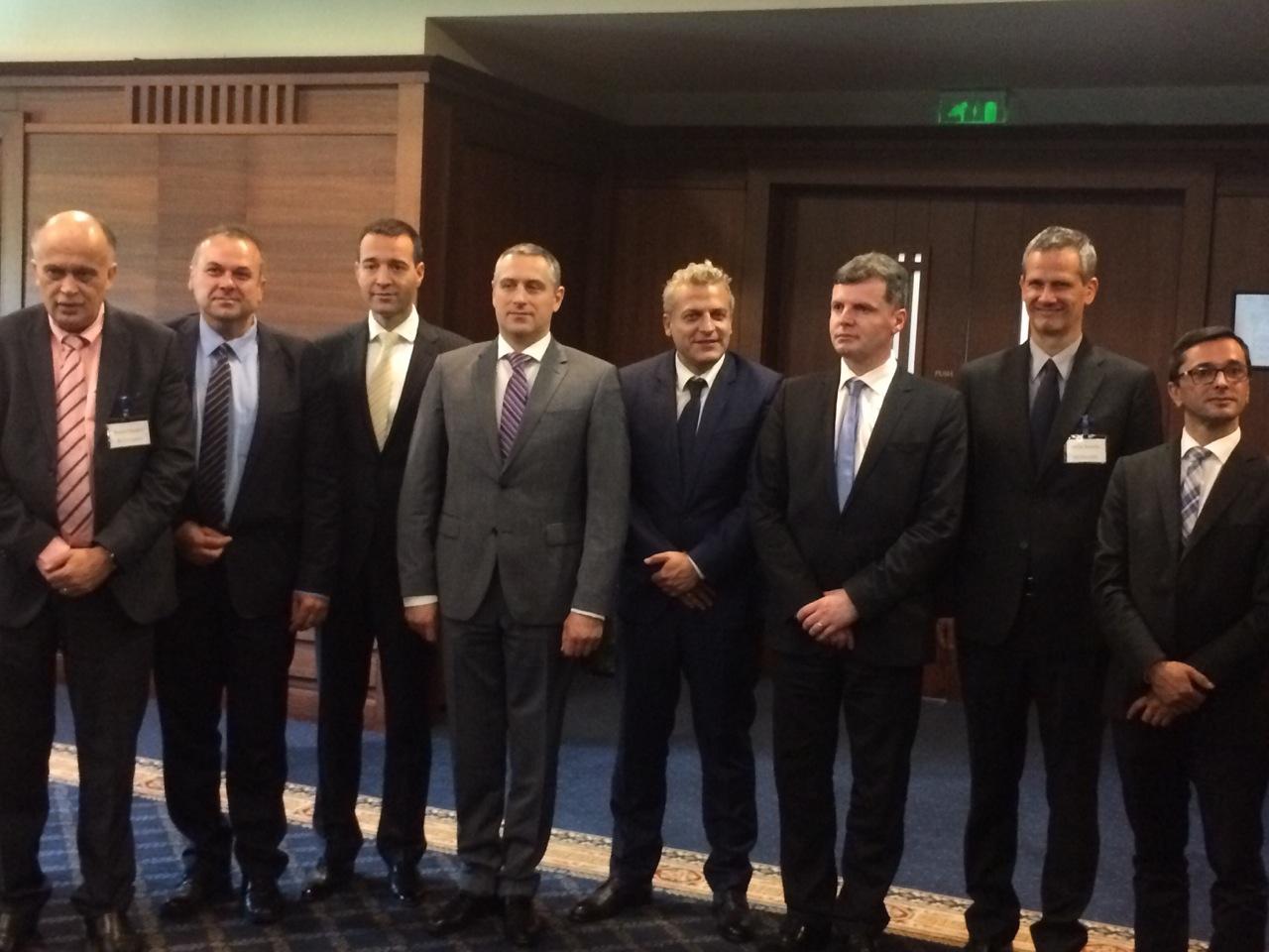 Тодоров на работен состанок на министри за здравство во Софија