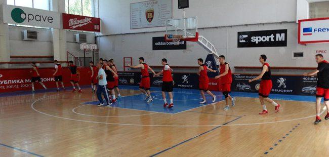 Почнаа подготовките на младата македонска кошаркарска репрезентација