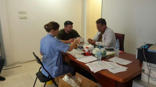 Крводарителска акција во Меморијалниот центар Никола Кљусев