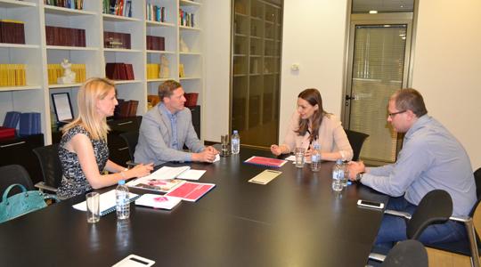 Средба на Арсовска – Томовска со менаџментот на Македонски Телеком