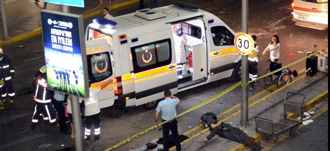 Црн Биланс: Вкупно 36 загинати во нападите врз аеродромот во Истанбул