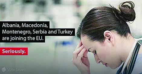 """Заговорниците на """"Брегзит"""" со кампања: Стигаат Србија, Македонија, Црна Гора, Албанија и Турција во ЕУ"""
