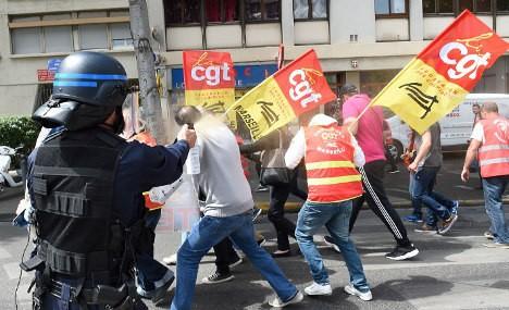 Масовни протести во Франција