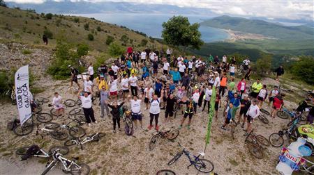 """Над 400 велосипедисти на третиот по ред """"Tour de Galicica"""""""