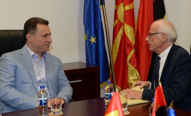 Средба Груевски-Хајндл: За ВМРО-ДПМНЕ избори се прифатливи во секој термин, но без ново лицитирање со термини