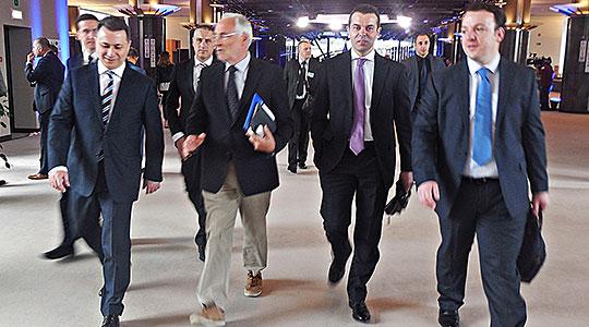 Груевски по средбата со Хан: На сите им одговара елиминирање на надворешните и внатрешните ризици