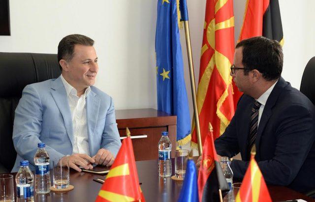 Груевски оствари средба со Роберт Бенџамин