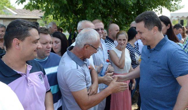 Груевски во посета на општина Кочани