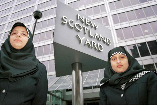 Хиџабот дел од полициската униформа во Шкотска