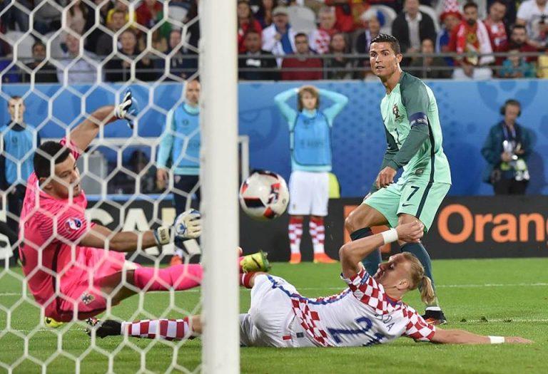 Португалија со минимална победа против Хрватска