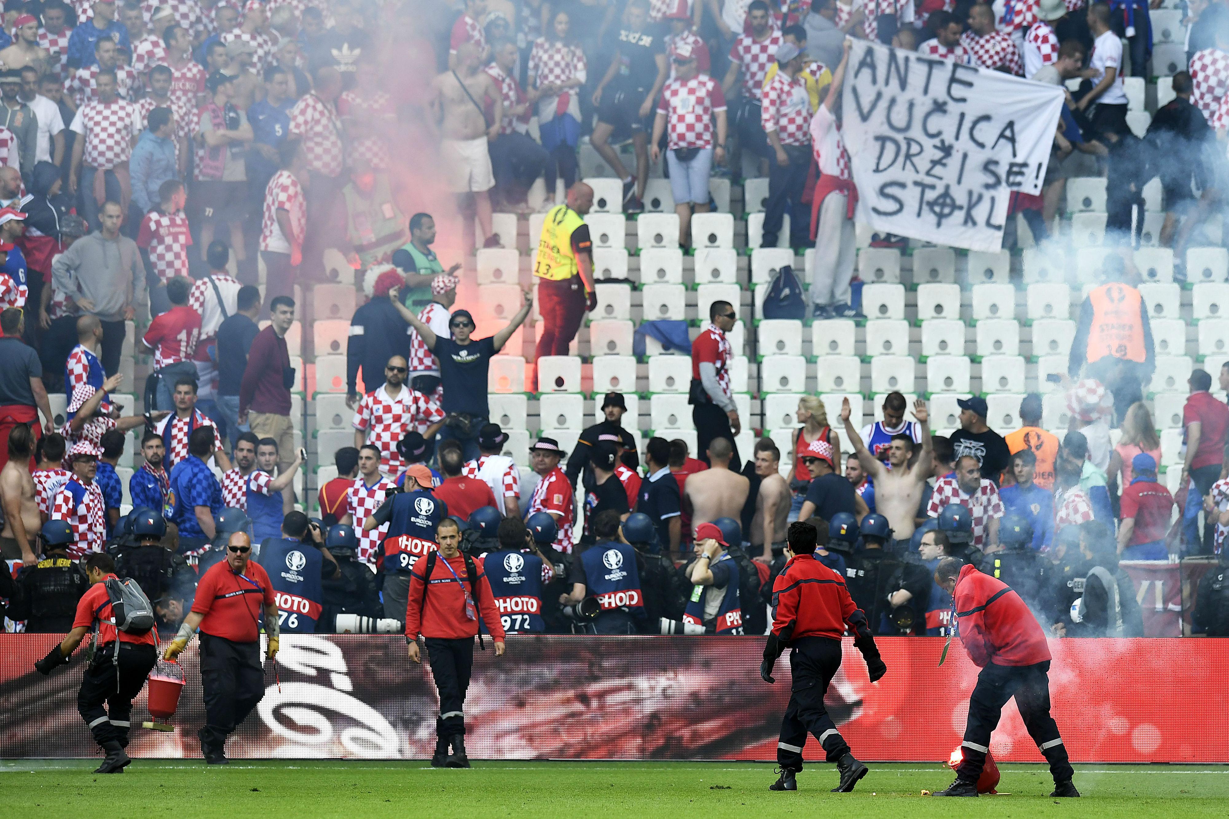 УЕФА покрена дисциплинска постапка против Хрватска