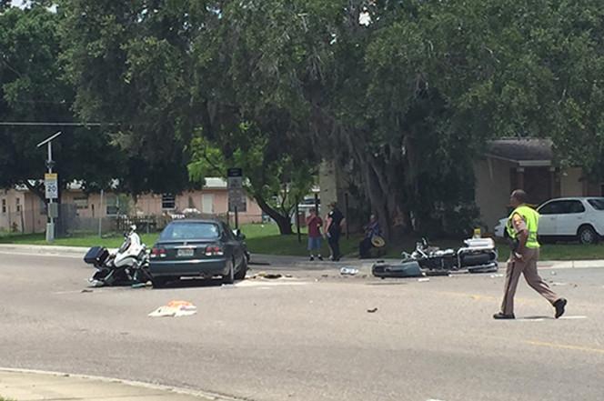 Инцидент на погребот на жртвите од Орландо