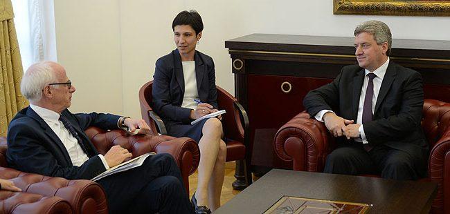 Средба Иванов-Хајндл: Нема веќе изговори за обврските од договорот од Пржино
