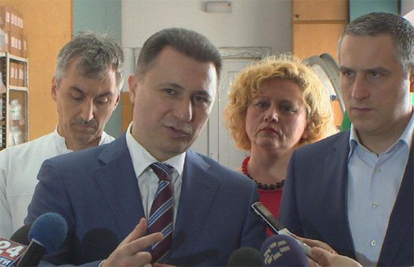 Груевски: Од 38 отсто во време на СДСМ, невработеноста ја намаливме на 24,5 отсто