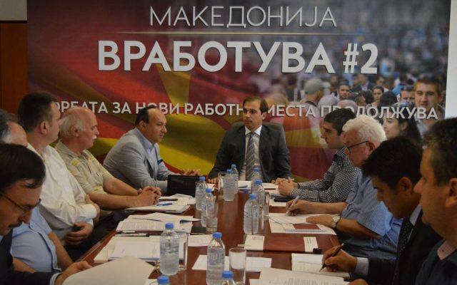 """Економско-социјалниот го поддржа спроведувањето на проектот """"Македонија вработува 2"""""""