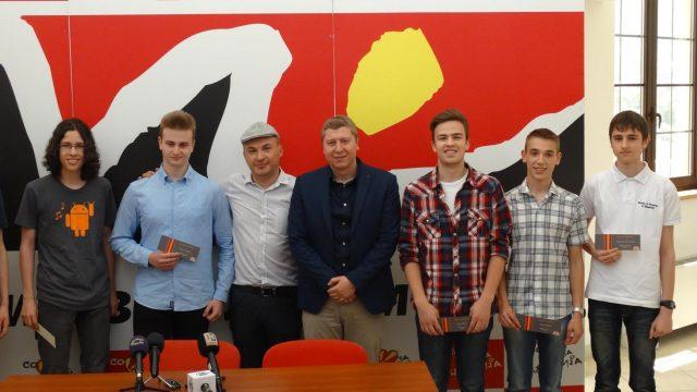 ФОТО: Наградени најдобрите македонски млади програмери