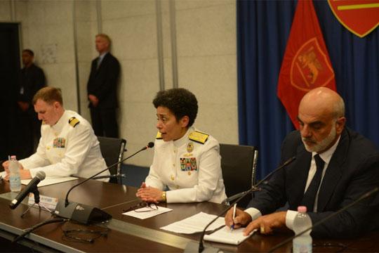 Првпат жена поставена за командант на НАТО во Неапол