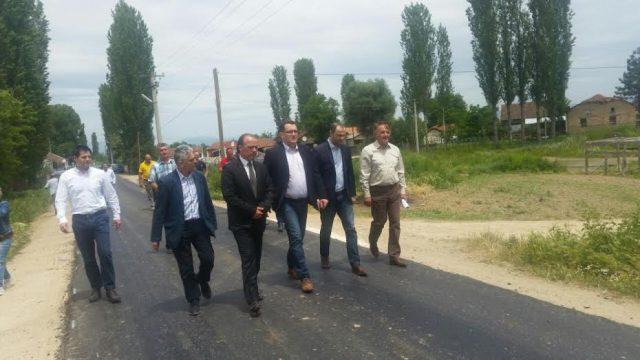 ФОТО: Мисајловски на увид на дел од капиталните проекти во Кривогаштани