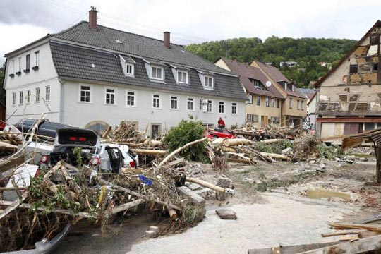 Четворица загинати во поплавите во јужна Германија