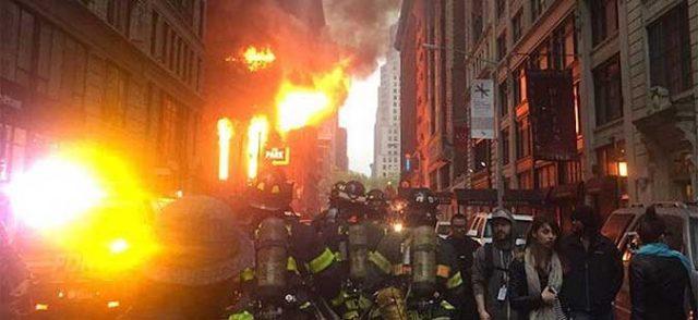 """""""Њујорк пост"""": Неизгаснати свеќи причина за пожарот во црквата """"Свети Сава"""" во Њујорк"""