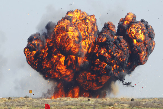 Експлозија во магацин за ракети во Русија, евакуирани 600 лица