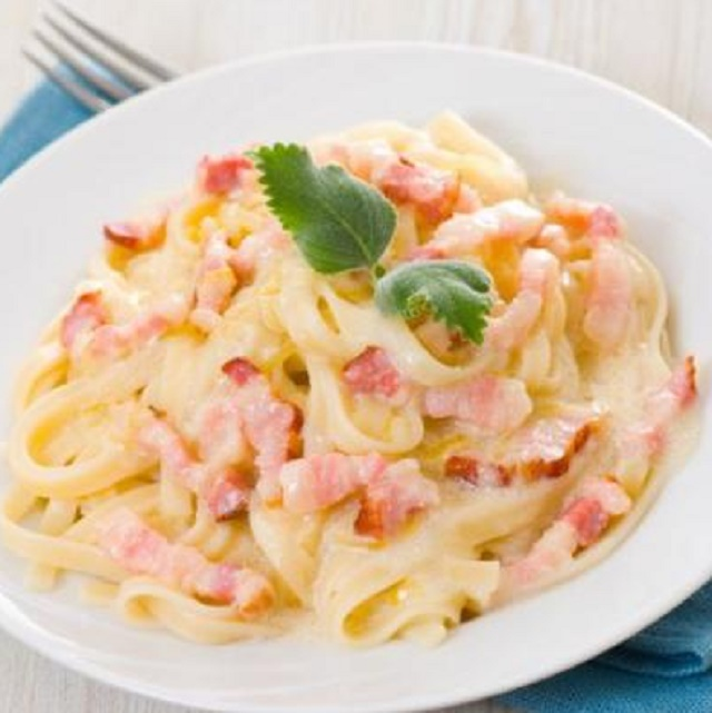Рецепт: Шпагети карбонара