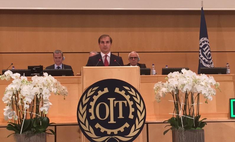 Спасов се обрати на 105. годишна конференција на МОТ во Женева