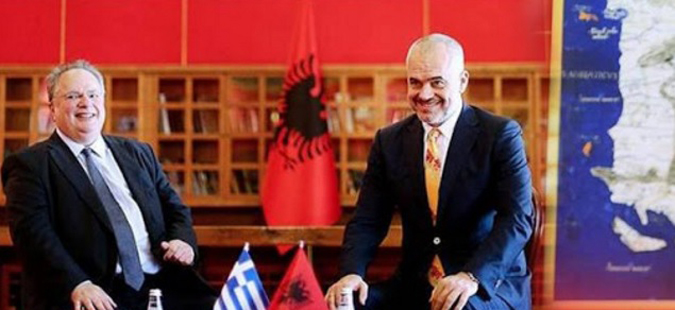 Атина лута: Провокација на Рама со карта со грчки територии