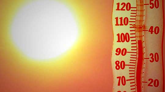 Препораки за заштита од високите температури