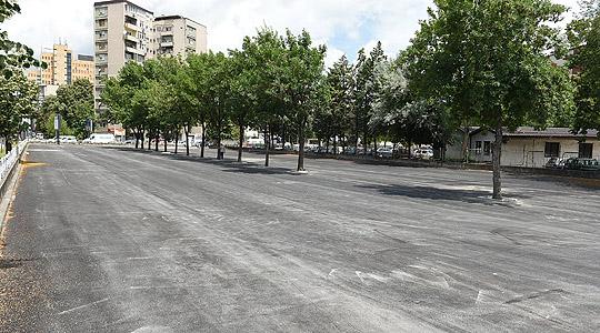 Реконструкција на паркинг просторот до Тутунски комбинат
