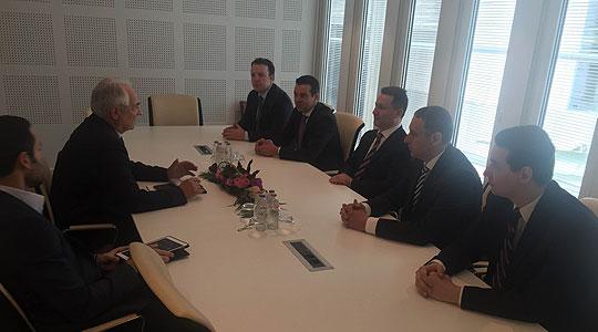 Вајгл: Важно е да се одржи дијалогот меѓу Европски парламент и политичарите од Македонија