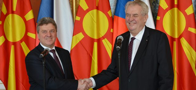 Милош Земан во дводневна посета на Македонија