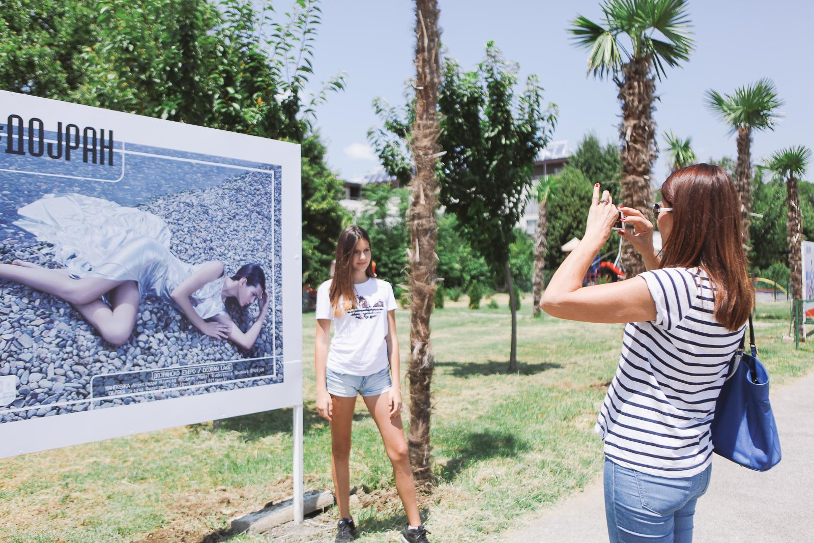 ФОТО+ВИДЕО: Убавините на Дојран прикажани низ модни фотографии