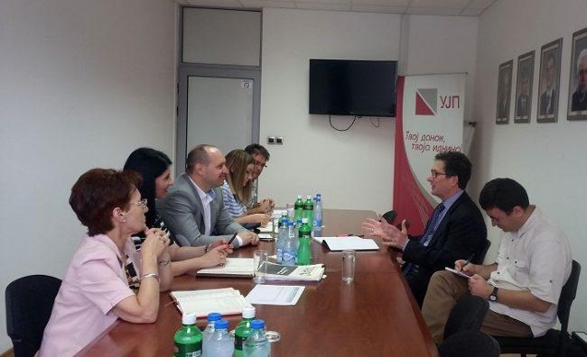 Миноски на средба со ММФ за модернизирање на УЈП