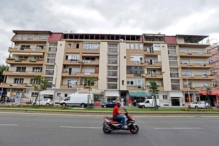 """Енергетска фасада и нови бои на зградата на булевар """"Климент Охридски"""""""