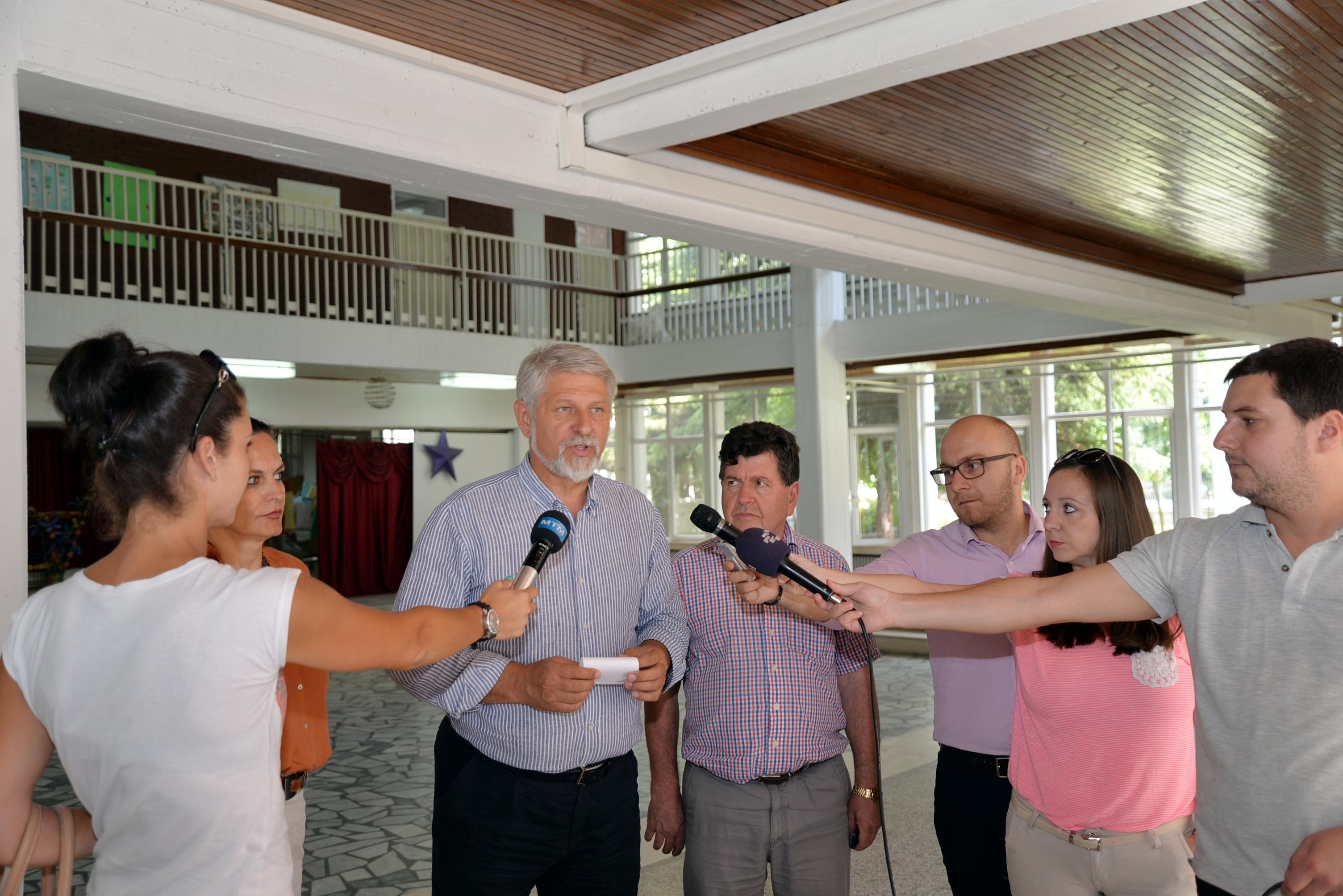 Се подновуваат основните училишта во Општина Карпош