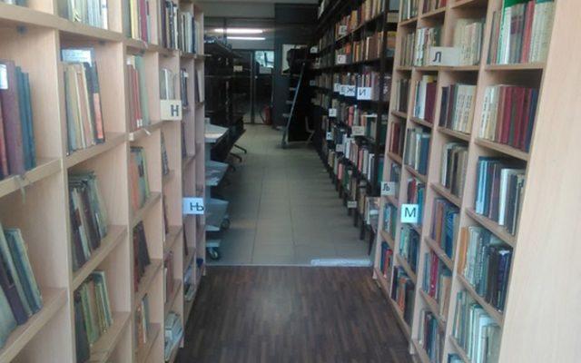 Rekonstruirana klon biblioteka  Sveti Kliment Ohridski (2)