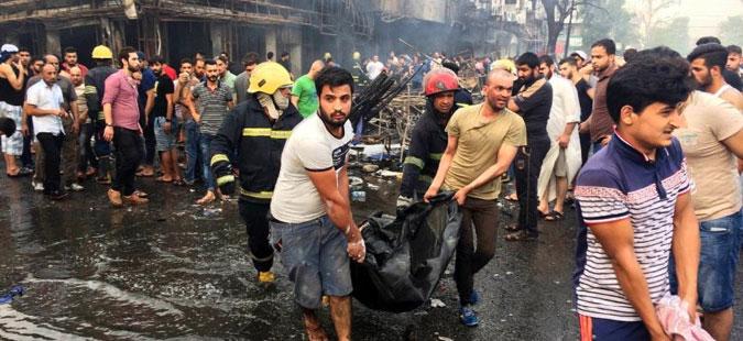 Над 200 убиени во самоубиствениот напад во Багдад