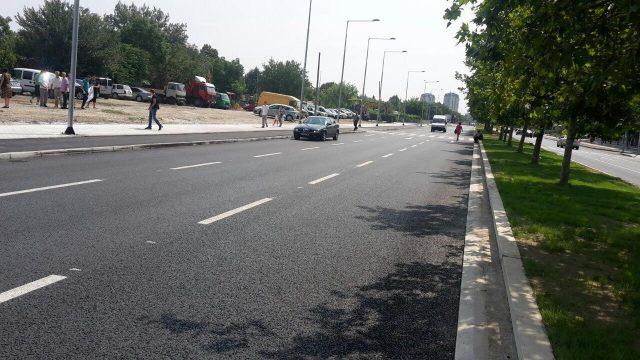 """ФОТО: Пуштен во употреба проширениот булевар """"Партизански Одреди"""""""