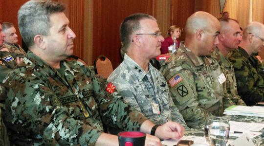 Делегација на АРМ на  конференција на земјите партнери на националната гарда на САД